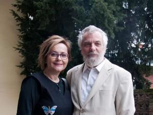 Tanja Srek i dragan Karlavaris na pauzi strucnog skupa