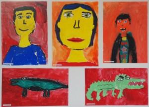 radovi sa izlozbe mentor Tanja Srek