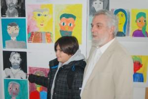 ucenik Darijan Nakic pored svog rada sa mentorom